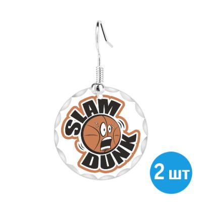 Серьги Slam Dunk