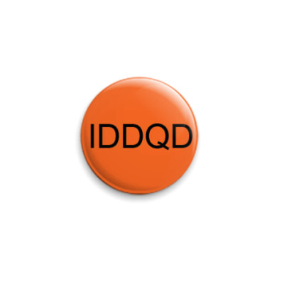 Значок 25мм IDDQD