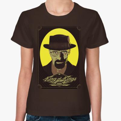 Женская футболка Уолтер Уайт (Heisenberg)