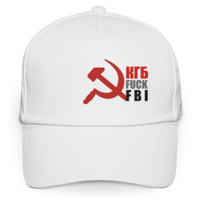 Кепка бейсболка КГБ fuck FBI