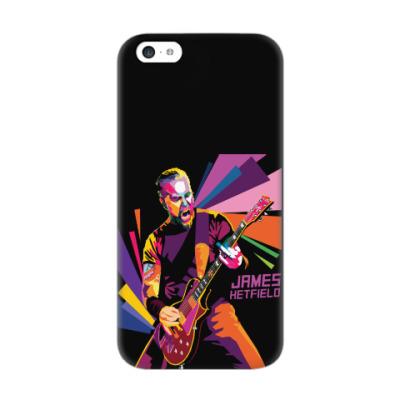 Чехол для iPhone 5c James Hetfield
