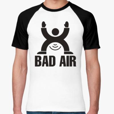 Футболка реглан Плохой воздух