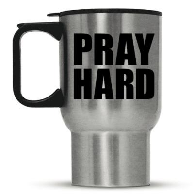 Кружка-термос Pray Hard