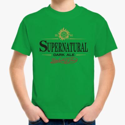 Детская футболка Supernatural - Темный эль