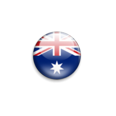 Значок 25мм Флаг Австралии