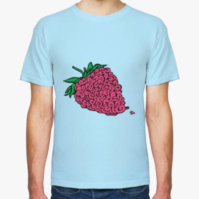 Футболка Мужская футболка Fruit of the Loom, голубая