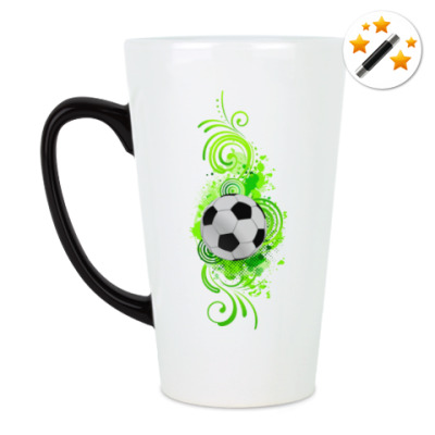 Кружка-хамелеон Футбольный мяч