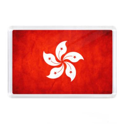 Магнит Флаг Гонконга