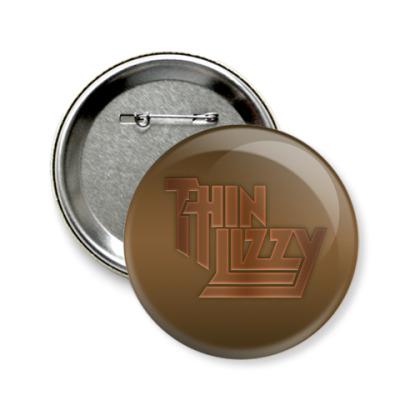 Значок 58мм Thin Lizzy