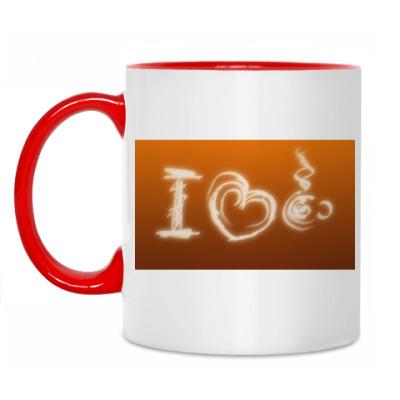 Кружка Я люблю кофе!