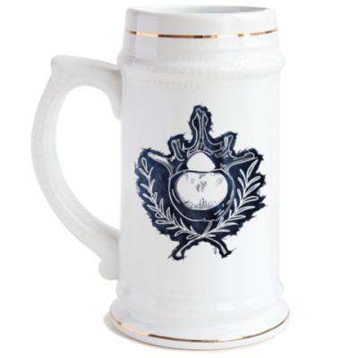 Пивная кружка Кости