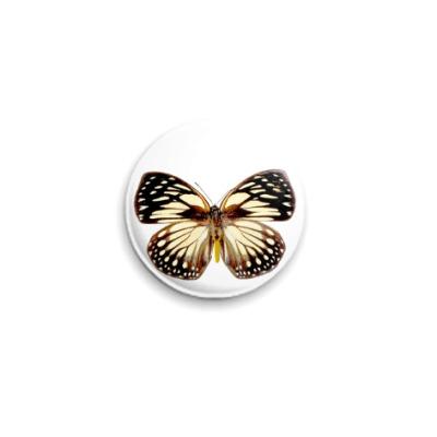 Значок 25мм  Бабочка 9