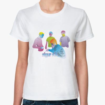 Классическая футболка  Sigur Ros