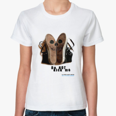 Классическая футболка 'kick'