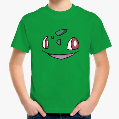 Детская футболка Покемон Бульбазавр