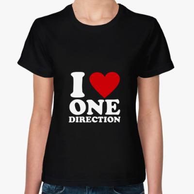Женская футболка One direction