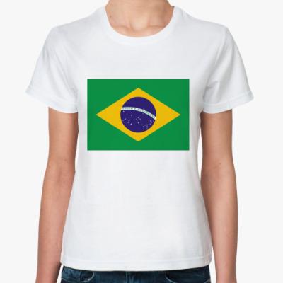 Классическая футболка  Бразилия