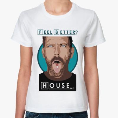 Классическая футболка Feel better?
