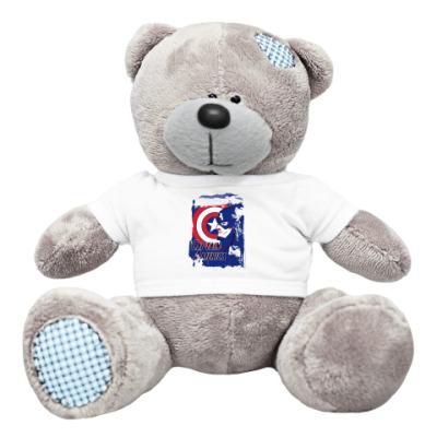 Плюшевый мишка Тедди Капитан Америка