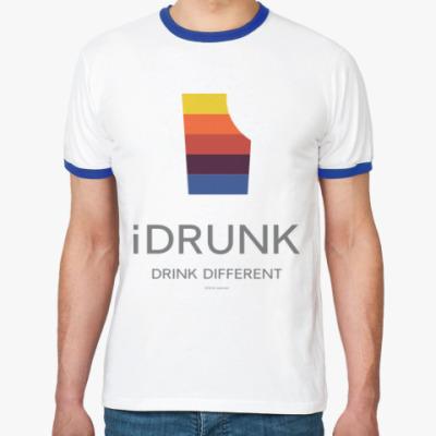 Футболка Ringer-T iDrunk
