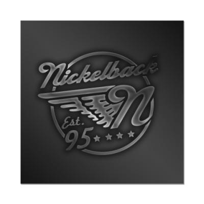 Наклейка (стикер) Nickelback
