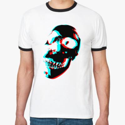 Футболка Ringer-T RGB череп