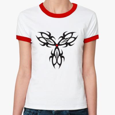 Женская футболка Ringer-T Трикрас