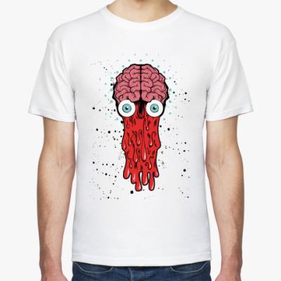 Футболка  футболка  Brain