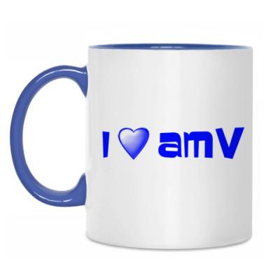 Кружка Люблю AMV