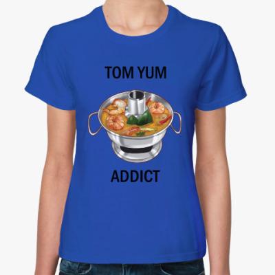 Женская футболка Суп Том ям - самый острый символ Таиланда!