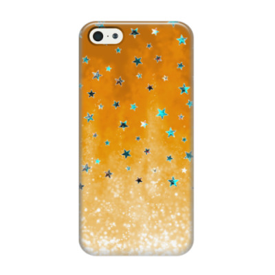 Чехол для iPhone 5/5s Яркие звездочки