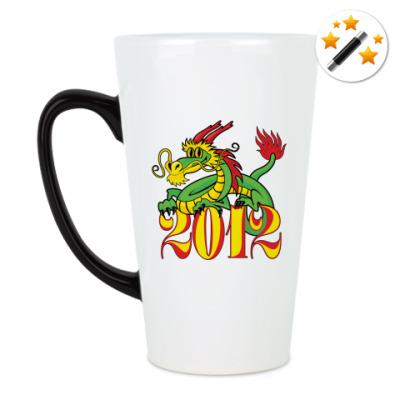 Кружка-хамелеон Дракон 2012