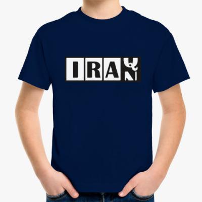 Детская футболка Иран-Ирак
