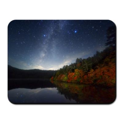 Коврик для мыши Осеннее озеро