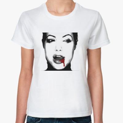 Классическая футболка АНДЖЕЛИНА VAMPIRE