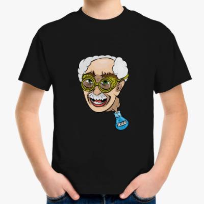 Детская футболка Чокнутый профессор