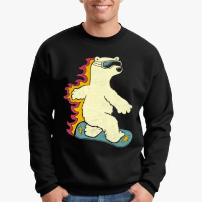 Свитшот Медведь сноубордист