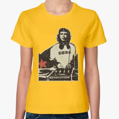 Женская футболка DJ Che