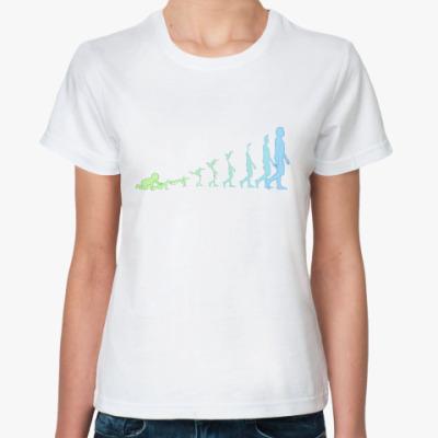 Классическая футболка Цифровой взгляд на процесс