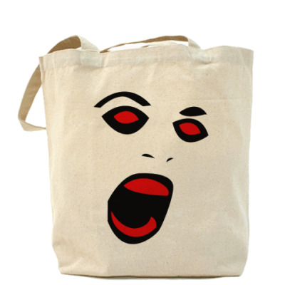 Сумка Scream  Холщовая сумка