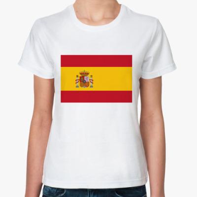 Классическая футболка  Испания