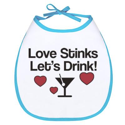 Слюнявчик Love Stinks