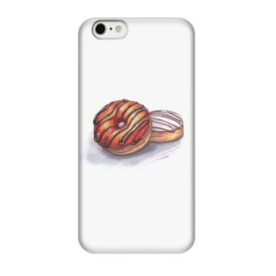 Чехол для iPhone 6/6s Пончики
