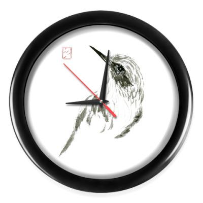 Настенные часы Spinning