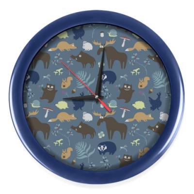 Настенные часы Жизнь леса