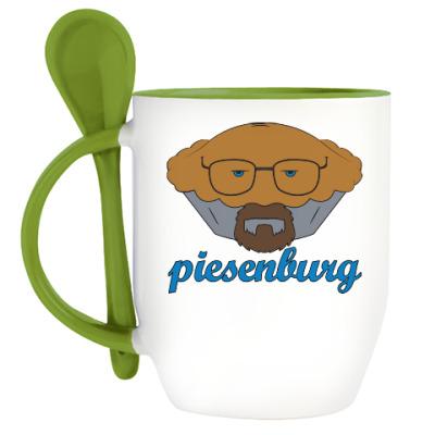 Кружка с ложкой Piesenburg