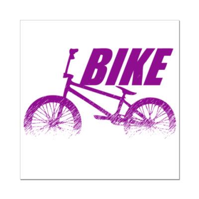 Наклейка (стикер) Bike