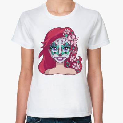 Классическая футболка Русалочка