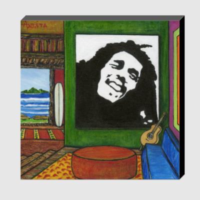Холст Bob Marley (Боб Марли)