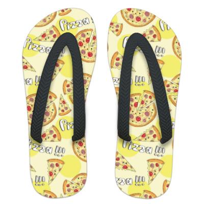 Шлепанцы (сланцы) Пицца